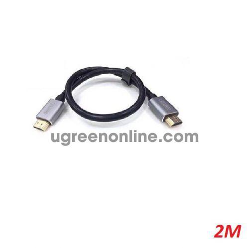 Unitek 28479 Y-C185LGY- 0.5M Cáp Hdmi 2.0 Màu Đen 10028479