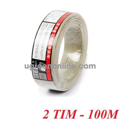 Unitek 26644 C885BG 100M 2 Tim Cable điện thoại 10026644