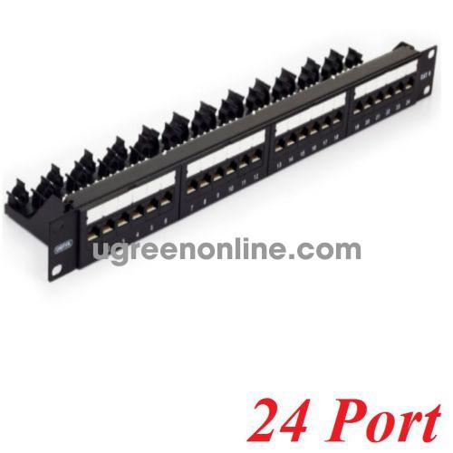 Unitek 27249 T003A Patch panel 24 Port Cat 6 10027249
