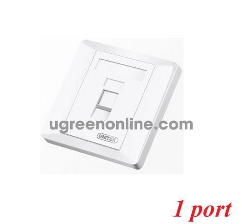 Unitek 27935 T018A Mặt 1 port vuông 10027935
