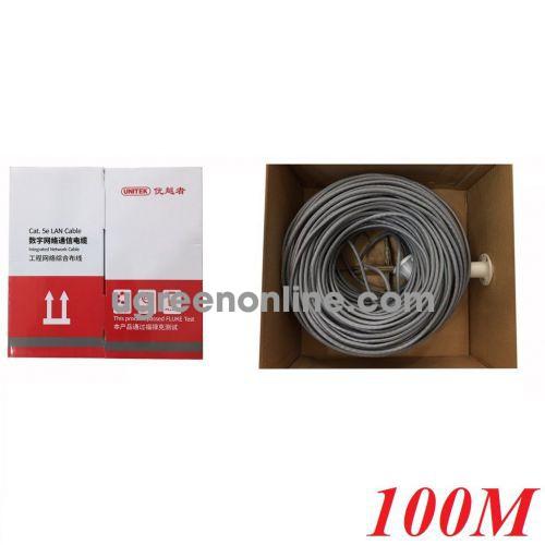 Unitek 28425 Y-C871GY 100M Cable Utp Cat 5E 0.4BC 10028425