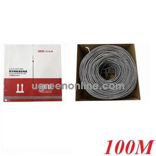 Unitek 28326 Y-C874AGY 100M Cáp Utp Cat 6E 0.57BC OD6.0MM 10028326