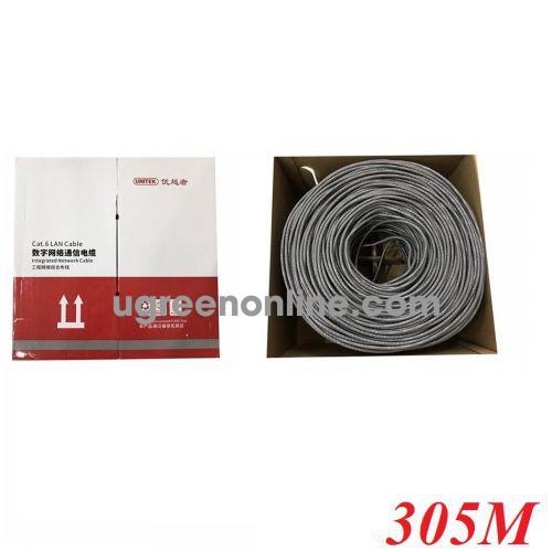 Unitek 29598 Y-C876AGY 305M Cáp Utp Cat 6E 0.57BC OD6.0MM 10029598