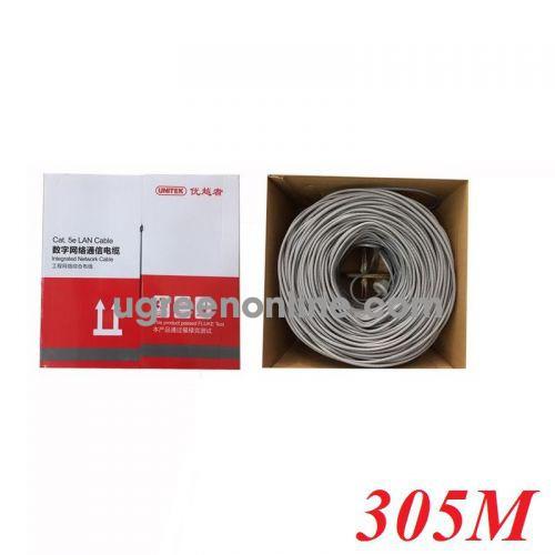 Unitek 25891 Y-C881GY 305M Cable Utp Cat 5E 0.45BC 10025891