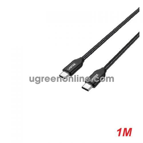Unitek 25322 C14059BK 2M Cáp USB Type-C Màu Đen 10025322