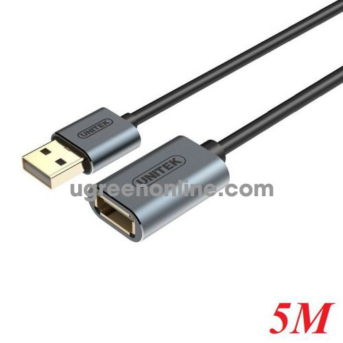 Unitek 25771 Y-C418FGY 5M Cáp USB Nối Dài 2.0 10025771