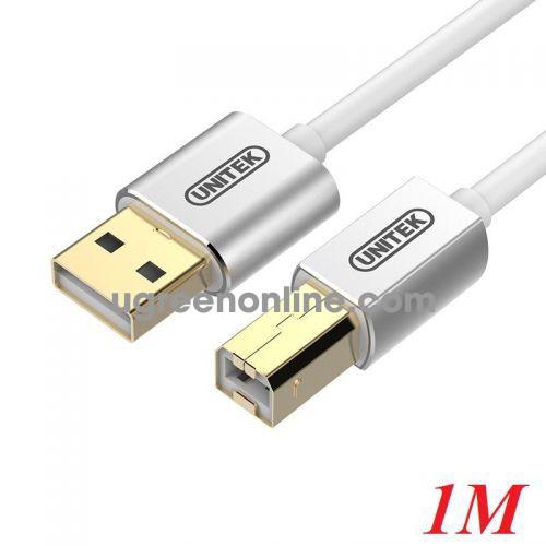 Unitek 27701 Y-C430FSL 1M Cáp USB In 2.0 10027701