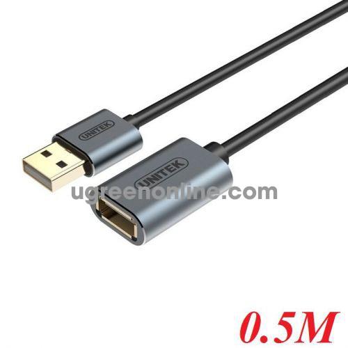 Unitek 26666 Y-C447FGY 0.5M Cáp USB Nối Dài 2.0 10026666