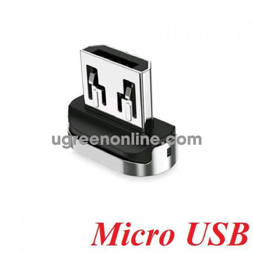 Ugreen 60209 Only Magnetic head Micro USB Connector Nickel Plating ED023 10060209