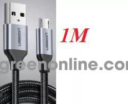 Ugreen 60146 1m micro usb 2.0 data cable aluminum case us290