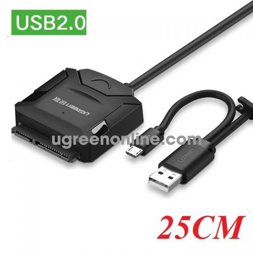 Ugreen 20216 0.25m usb2.0 to sata converter 25cm cr108