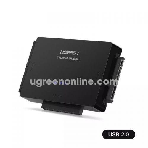 Ugreen 30352 usb 2.0 to sata + 3.5 ide + 2.5ide converter black us160