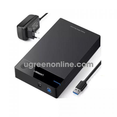 Ugreen 50422 usb 3.0 3.5 inch hard disk box black us222