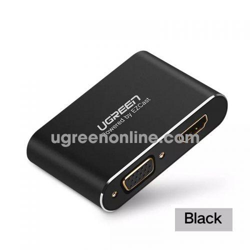 Ugreen 30963 iphone to hdmi & vga converter black us228