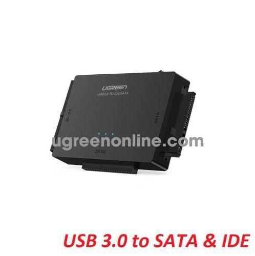 Ugreen 20673 4Tb 12V USB 3.0 to SATA + 3.5 IDE + 2.5 IDE Converter US US160 10020673