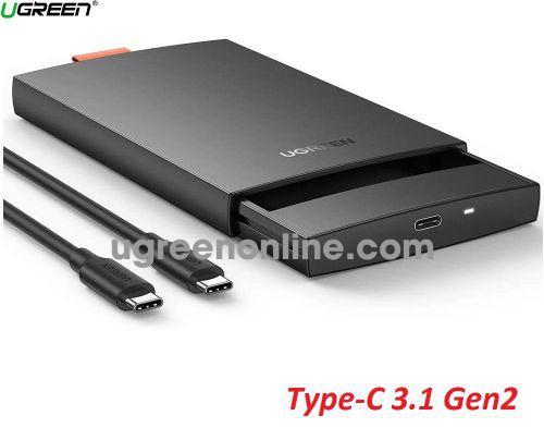 Ugreen 80556 2.5inch Black USB 3.0 Hard Drive Box CM237 10080556