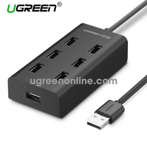 Ugreen 30374 1m usb 2.0 7 ports hub đen cr130