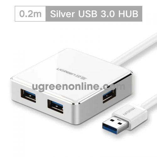 Ugreen 20789 0.2m usb 3.0 4 port hub màu trắng 20cm us168