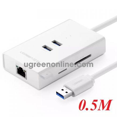 Ugreen 20248 Usb 3.0 Combo White 50Cm 20248