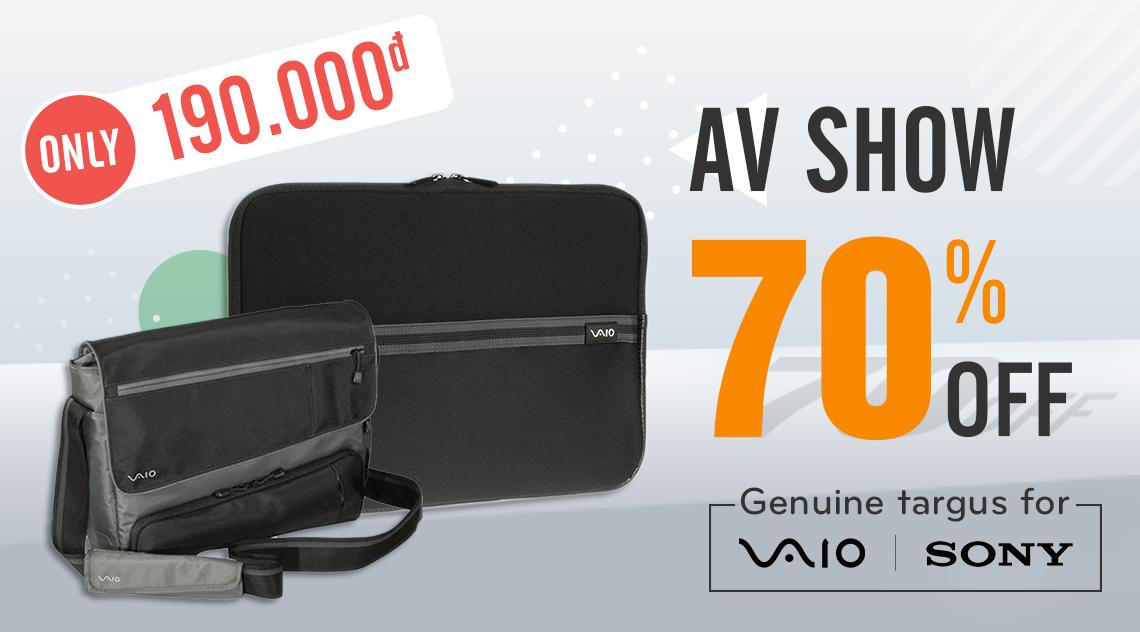 AV show 70% up